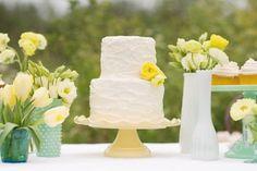 decoração de casamento amarelo e branco