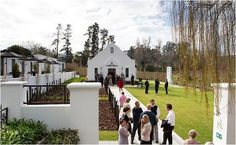 Wedding Venues with Chapels and Reception Area in Cape Town | Confetti Daydreams - Brenaissance Wine & Stud Estate, Stellenbosch Winelands ♥ #CapeTown #WeddingVenues #WeddingChapels