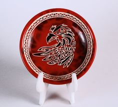 Hey, I found this really awesome Etsy listing at https://www.etsy.com/listing/266279539/eagle-pride-plate