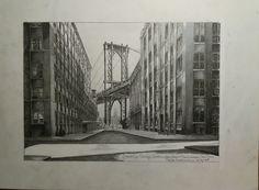 Brooklyn Bridge, Washington-Frontstreet, New York
