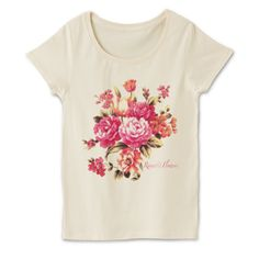 花束 4.1oz Basic Ladies Tshirts (DALUC)