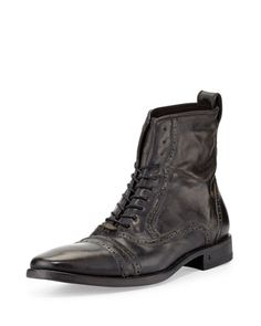 Brogue+Leather+Lace-Up+Boot 2119f0631