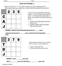 Printables Free Gifted And Talented Worksheets education world critical thinking worksheet grades 6 8 deductive schoolexpress com 17000 free worksheets