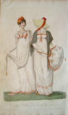 Belle Assemblee 1807. Regency fashion plate.