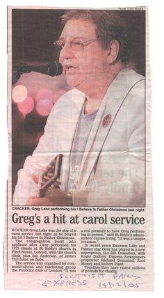GREG LAKE St Brides, Greg Lake, Emerson Lake & Palmer, Progressive Rock, Beautiful Voice, Music Stuff, Lps, The Beatles, Surgery