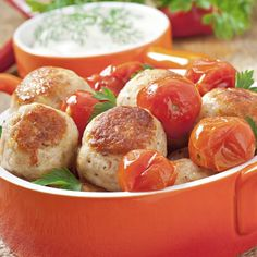 Roasted Chicken Balls Recipe from Grandmother's Kitchen