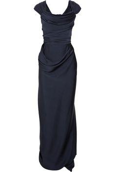Vivienne Westwood Gold Labeldraped silk jersey gown