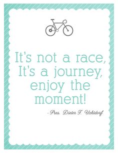 Not a Race Printable... Love it!
