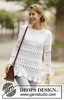 DROPS 162-27 crochet  top