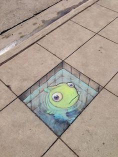 STREET ART UTOPIA » We declare the world as our canvas » Chalk Art by David Zinn in Michigan, USA374567