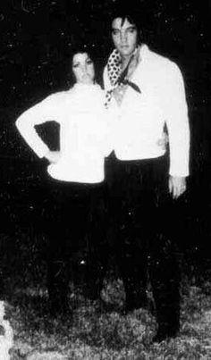 Cilla and Elvis at Graceland 1969  okay, accidentally putting Elvis, under Decadent Desserts...Go Figuire LOL