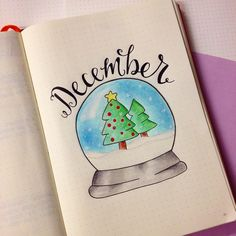 December Monthly Header