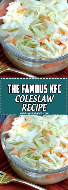 """Welcome again to the home of Easy Healthy Recipes on Budget & Easy Healthy dessert on Budget, Today i will guide you how to make """"The Famous KFC Coleslaw Recipe"""". Homemade Coleslaw Dressing, Coleslaw Recipe Easy, Kfc Coleslaw, Kfc Original Coleslaw Recipe, Healthy Recipes On A Budget, Easy Healthy Dinners, Healthy Dessert Recipes, Dinner Recipes, Cooking Recipes"""