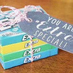 Grab a couple packs of @extragum and to spoil your secretaries! This adorable idea is by @byjillee! #secretarysday #targetteachers
