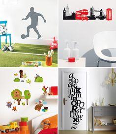 Colección de vinilos infantiles Trendy Stickers de Caselio