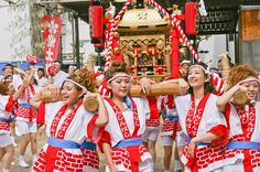 ギャルみこし Matsuri Festival, Turning Japanese, Osaka Japan, Summer Festivals, Travel, Viajes, Destinations, Traveling, Trips