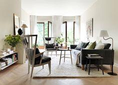 Hemma hos Nirvan Richter och Arpita Swich råder lugn och harmoni. Det är precis samma känsla som präglar de möbler Nirvan gör för sitt företag Norrgavel. Inspireras av vackra material – och...