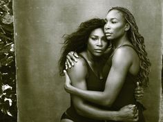 "Annie Leibovitz's Work on 'Women' Is Never Done ""Serena and Venus Williams, Palm Beach, Florida, 2016"