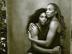 "Annie Leibovitz's Work on 'Women' Is Never Done ""Serena and Venus Williams, Palm Beach, Florida, 2016"