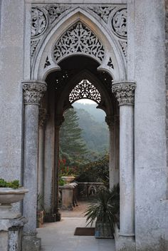 Monserrate Palace, Sintra, Portugal