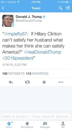 Donald Trump takes down tweet about Hillary Clinton.