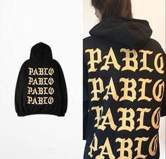 2016 Kanye West I Feel Like Pablo Men's Hoodies