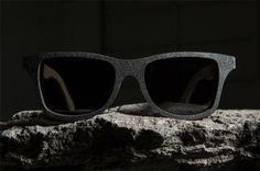 Γυαλιά ηλίου φτιαγμένα από πέτρα. Ναι, πέτρα. Πέτρα… Πέτρινη!