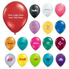"""9 Inch Customized Jewel-Fashion Balloons: Available Colors: Jewel Teal, Quartz Purple, Sapphire Blue, Emerald Green, Ruby Red, Citrine Yellow, Mandarin Orange, Sparkling Burgundy, Diamond Clear, Tropical Teal, Rose, Spring Lilac, Ivory Silk, Onyx Black, Winter-green. Product Size: 9"""". Imprint Area: 4.5"""" D. Carton Weight: 10 lbs. Packaging: 1000. Material: Latex. #customballoons #promotionalproduct #tradeshowgiveaway #jewelfashion"""