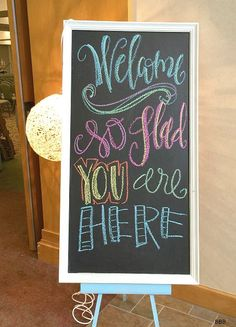 There's nothing better than displaying words of encouragement and truth around our home. Learning how to make your own chalkboard sign for just a few dollars is a fantastic way of bringing character to your home without breaking the bank. http://www.rustoleum.com/product-catalog/consumer-brands/specialty/chalkboard-brush-on