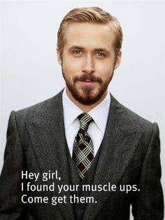 crossfit  Ryan Gosling