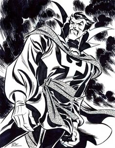 Dr Strange by Bruce Timm