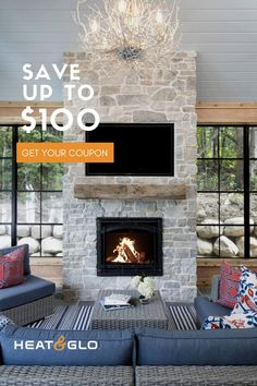 Find the perfect Heat & Glo model to complement your personal style. Browse our products today. Corner Gas Fireplace, Stone Fireplace Wall, Stone Fireplace Makeover, Porch Fireplace, Paint Fireplace, Farmhouse Fireplace, Fireplace Remodel, Fireplace Design, White Wash Fireplace