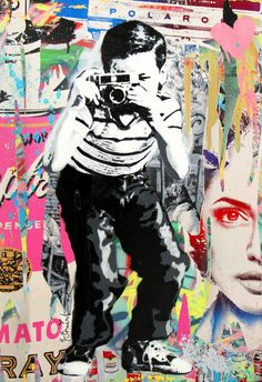 """Mr. Brainwash...go to """"Street Art"""" at http://www.earthoceanfire.blogspot.com ,..he is in the documentary that I mention"""