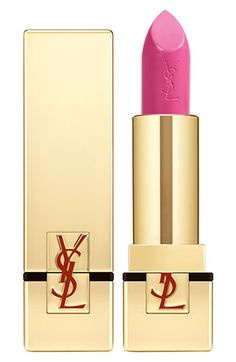 ysl rouge pur couture lip color spf15 in 027 fuschsia innocent