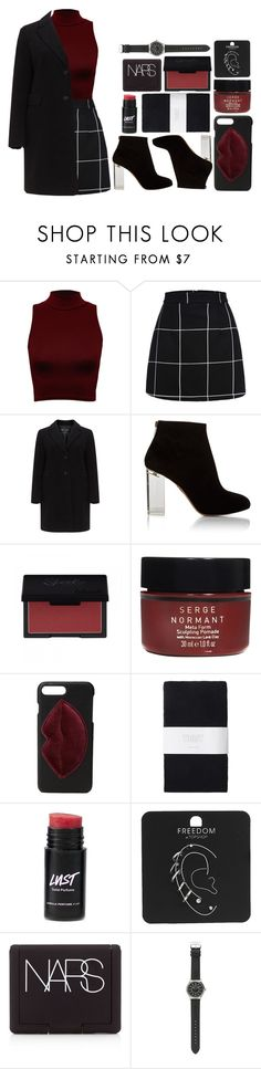 """""""Cheap drinks at dive bars"""" by antisocial-vagabond ❤ liked on Polyvore featuring WearAll, Charlotte Olympia, Serge Normant, Kendall + Kylie, Toast, Topshop, NARS Cosmetics and J.Crew"""