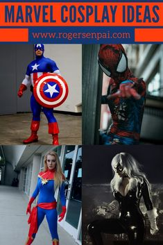 Today I'm here to talk about 10 easy Marvel cosplay ideas that you can do for your next convention! Deadpool Cosplay, Marvel Cosplay, Iconic Characters, Marvel Characters, Deadpool Photos, Captain America Photos, Iron Man Photos, Best Cosplay, Awesome Cosplay