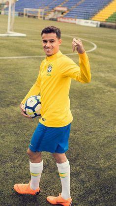 Philippe Coutinho Brazil Football Team, Brazil Team, Football Is Life, Football Memes, Football Kits, Football Soccer, Neymar, Cr7 Messi, Coutinho Wallpaper