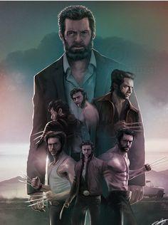 Hugh Jackman. Dit doet voor ons het meest pijnlijke om dit te zien.. Vaarwel Logan wij zullen je missen als Wolverine #Wolverine #Logan #HughJackman