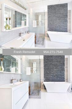 Modern Bold Master Bathroom