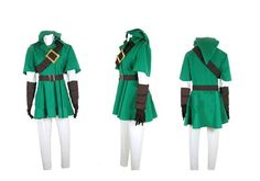 The Legend of Zelda Twilight Princess LINK Costume Cosplay *** See this great product.