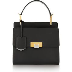 Balenciaga Le Dix Cartable small leather shoulder bag ($1,935) ❤ liked on Polyvore featuring bags, handbags, shoulder bags, leather shoulder bag, real leather handbags, shoulder hand bags, balenciaga and genuine leather shoulder bag