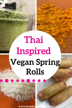You are going to love this easy and healthy vegan spring rolls recipe, baked or fried it, it's still awesome! Thai Spring Rolls, Vegan Spring Rolls, Healthy Kids Snacks For School, Kid Snacks, Spring Roll Wraps, Natural Health Food Store, Whole Food Recipes, Vegan Recipes, Plant Based Whole Foods