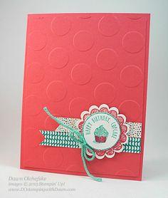Sketched Birthday card shared by Dawn Olchefske for  DOstamperSTARS Thursday Color Challenge #129 #dostamping #stampinup