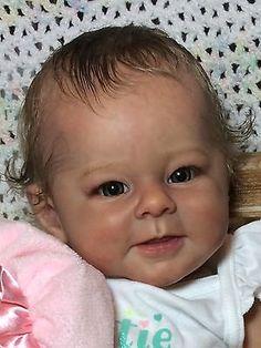 Edição Limitada realista Bebê Boneca Reborn Greta por Andrea arcello