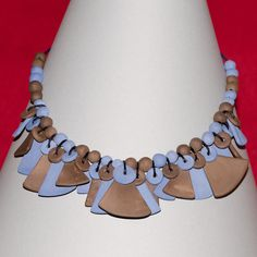 ceramic necklace by Paola Fornasier www.lecollanedipaolafornasier.org