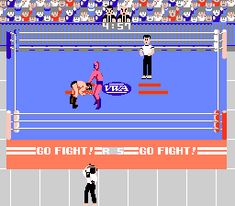 """Starman son! """"A winner is you."""" Pro #Wrestling - #NES #gaming"""