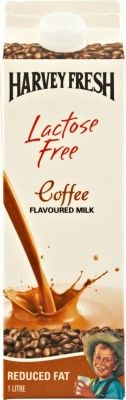 Harvey Fresh Lactose Free Milk Coffee Flavoured 1L