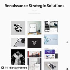 Love what you do - been a beautiful journey helping companies redeem their identity by put together Beautiful brands // #Repost @dianagordonco with @repostapp  We love what we do - an amazing lookbook we are curating for Renaissance Strategic Solutions #digitalmarketing #consulting #branding #advertising #dianagordonconsulting