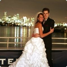 Planning a wedding?  Have your rehearsal dinner, ceremony or reception on a luxury Waterways Cruises Yacht!