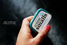 Make a travel-sized creamy butter balm - fits perfectly in a mini-altoids can!